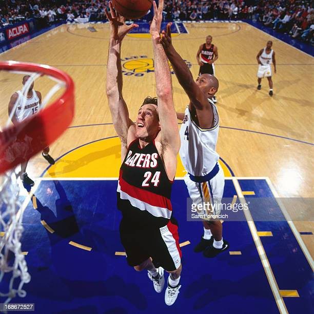 Portland Trail Blazers Golden State Warriors: Chris Dudley Stock Photos And Pictures