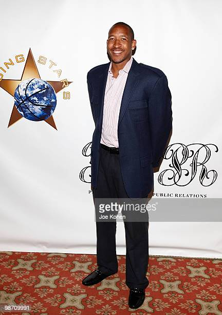 Chris Duhon attends Rising Stars Youth Foundation Dinner Honoring Jay Williams at New York Athletic Club on April 27 2010 in New York City