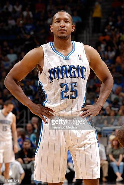 Chris Duhon of the Orlando Magic during the game against the Dallas Mavericks on March 30 2012 at Amway Center in Orlando Florida NOTE TO USER User...