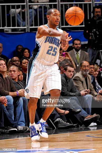 Chris Duhon of the Orlando Magic during the game against the Houston Rockets on January 7 2011 at the Amway Center in Orlando Florida NOTE TO USER...