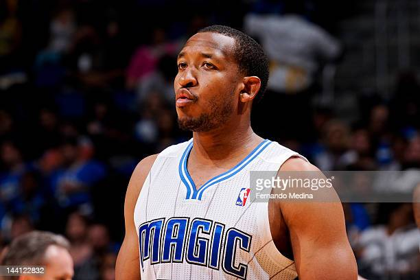 Chris Duhon of the Orlando Magic plays against the Indiana Pacers in Game Four of the Eastern Conference Quarterfinals during the 2012 NBA Playoffs...