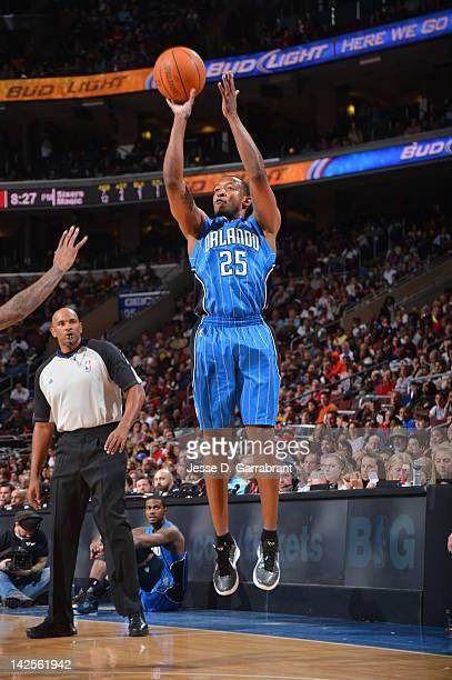 Chris Duhon of the Orlando Magic shoots against the Philadelphia 76ers on April 7 2012 at the Wells Fargo Center in Philadelphia Pennsylvania NOTE TO...
