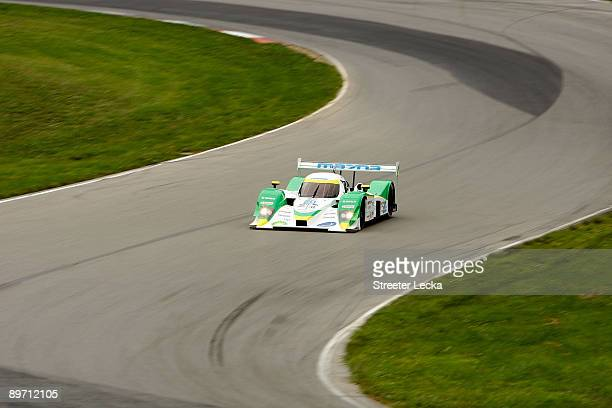 Chris Dyson and teammate Guy Smith drivers of the Dyson Racing Team Inc BP/Mazda during the American Le Mans Series Acura Sports Car Challenge at the...