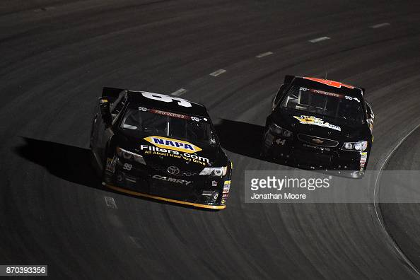 Chris Eggleston Driver Of The Napa Filters Toyota And