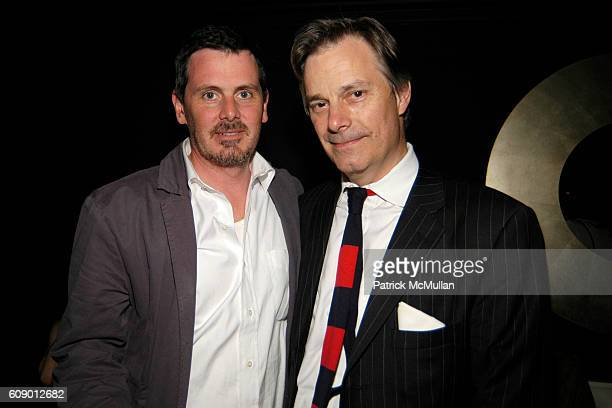 Chris Eigeman and Whit Stillman attend The Treatment Premier Party at Mantra 986 on May 4 2007 in New York City