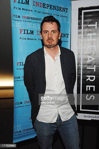 Chris Eigeman attends the 2008 Film Independent's Preview Screening of Turn The River on May 6 2008 at The Landmark Theater in Los Angeles California