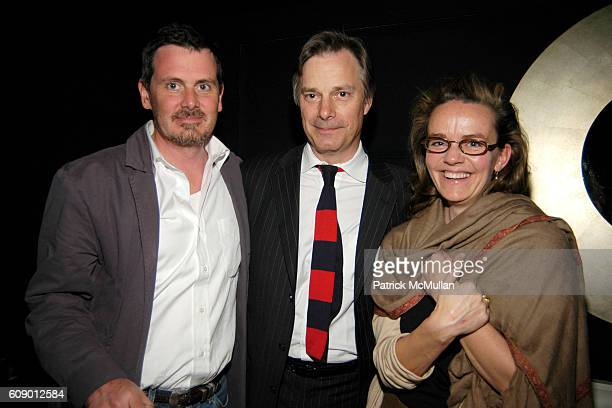 Chris Eigeman Whit Stillman and attend The Treatment Premier Party at Mantra 986 on May 4 2007 in New York City