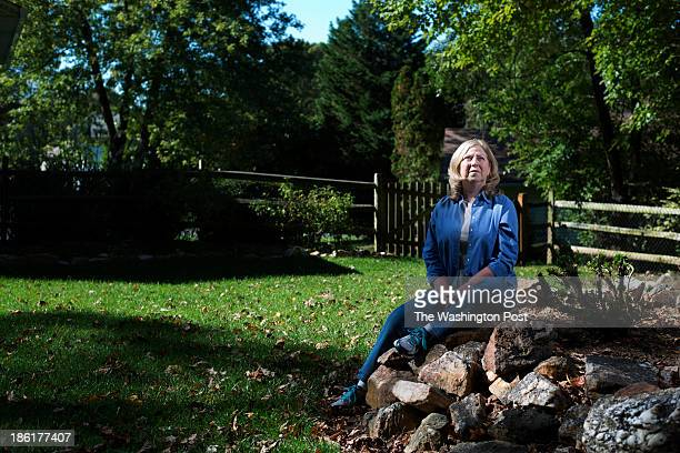 Chris Einhorn is photographed just outside of her home in Olney, Maryland on October 21, 2013. Chris Einhorn was ill with a bacteria that infected...
