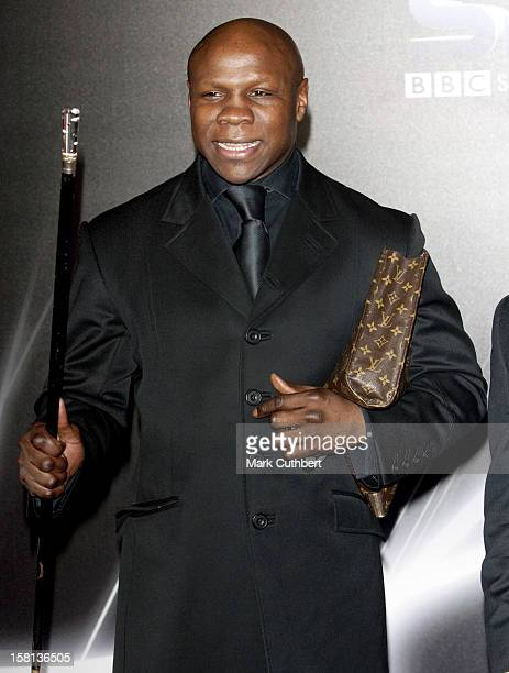 Chris Eubank At The Bbc Sports Personality Awards In Liverpool