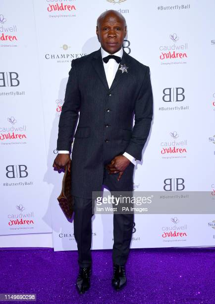Chris Eubank attending the Butterfly Ball Charity fundraiser held at the Grosvenor House Hotel London