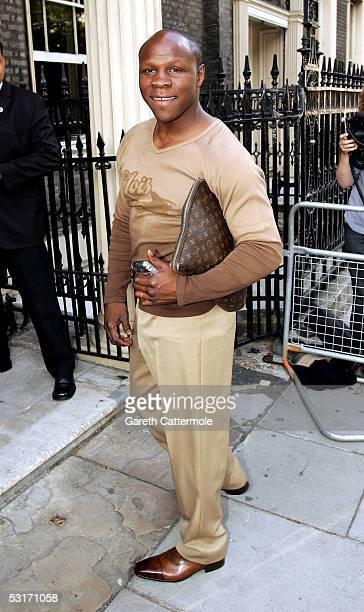Chris Eubank attends the annual Tatler Summer Party hosted by Tatler editor Geordie Greig and also celebrating the publication of their August 100...