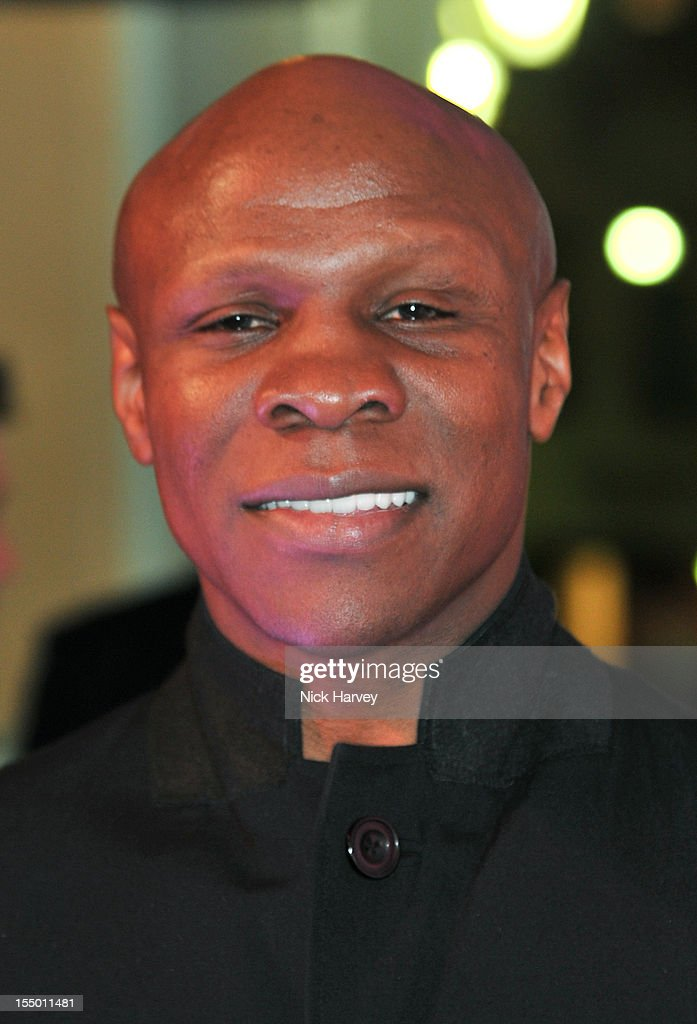 Chris Eubank attends the Thomas Pink Presents The Pink Lion launch event on October 30, 2012 in London, England.