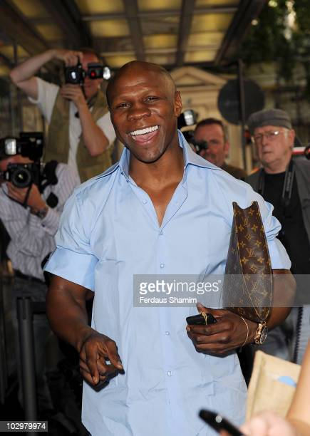 Chris Eubank attends the UK Premiere of South Of The Border at The Curzon Mayfair on July 19 2010 in London England