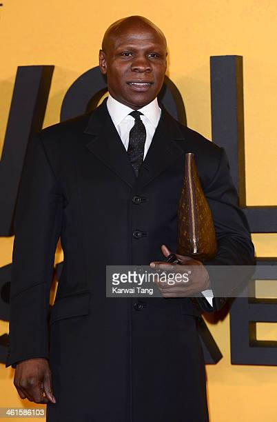 Chris Eubank attends the UK Premiere of The Wolf Of Wall Street at the Odeon Leicester Square on January 9 2014 in London England