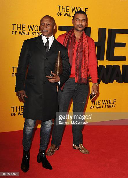 Chris Eubank attends the UK Premiere of The Wolf Of Wall Street at Odeon Leicester Square on January 9 2014 in London England