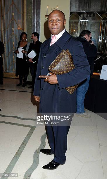Chris Eubank attends the Universal Party following the Brit Awards 2009 at the Claridge's Hotel on February 18 2009 in London England