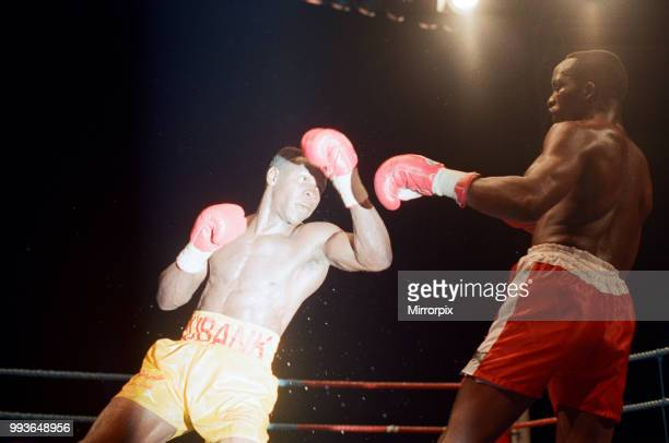 Chris Eubank defends his WBO supermiddleweight title against Ron Essett at the Quinta do Lago Hotel Almancil Portugal Eubank successfully retained...