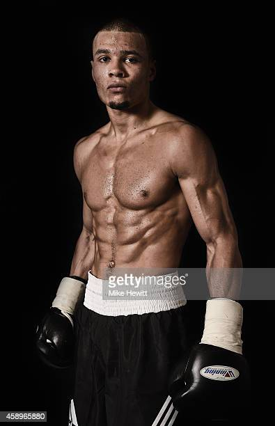 Chris Eubank Jnr poses for a portrait after a training session at the Brighton and Hove Boxing Club on November 14 2014 in Brighton England