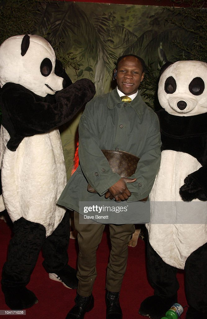 Chris Eubank, The Wild Thornberrys Movie Premiere (in Aid Of The World Wildlife Fund.), At Warner West End In Leicester Square, London