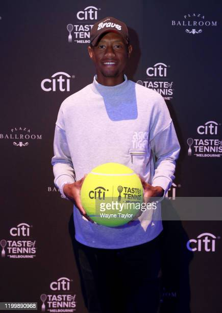 Chris Eubanks attends the Citi Taste of Tennis Melbourne Exclusive on January 16, 2020 in Melbourne, Australia.