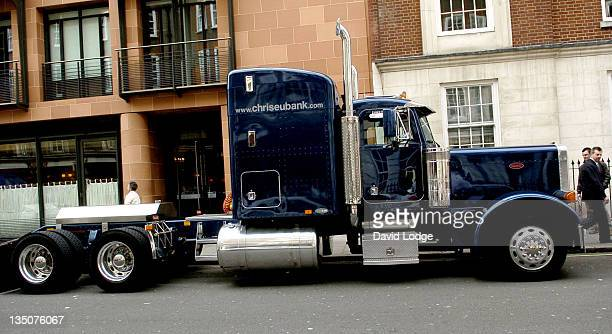 Chris Eubank's Truck during Chris Eubank Gets A Parking Ticket April 26 2006 at Cipriani's Resturant in London Great Britain