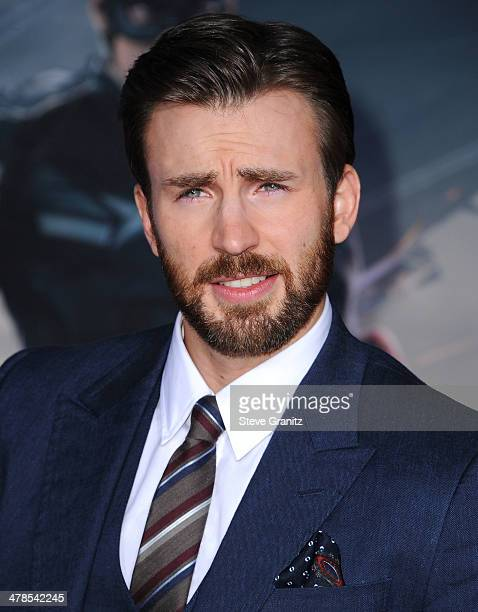 Chris Evans arrives at the 'Captain America The Winter Soldier' Los Angeles Premiere at the El Capitan TheatrePLEASE NOTE THIS IS AN INVITATION TO...
