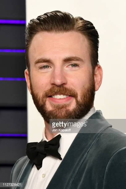 Chris Evans attends the 2019 Vanity Fair Oscar Party hosted by Radhika Jones at Wallis Annenberg Center for the Performing Arts on February 24 2019...