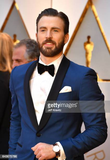 Chris Evans attends the 89th Annual Academy Awards at Hollywood Highland Center on February 26 2017 in Hollywood California