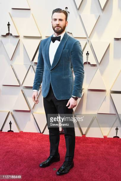Chris Evans attends the 91st Annual Academy Awards at Hollywood and Highland on February 24, 2019 in Hollywood, California.