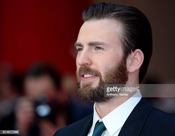 Chris Evans attends the European premiere of 'Captain America: Civil War' at Vue Westfield on April 26, 2016 in London, England