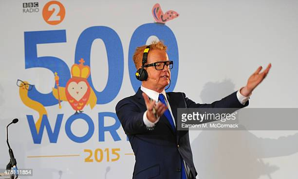 Chris Evans attends The Final Of BBC2's 500 Words Competition at St James Palace on May 29 2015 in London England