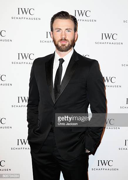 Chris Evans attends the IWC Come Fly with us Gala Dinner during the launch of the Pilot's Watches Novelties from the Swiss luxury watch manufacturer...