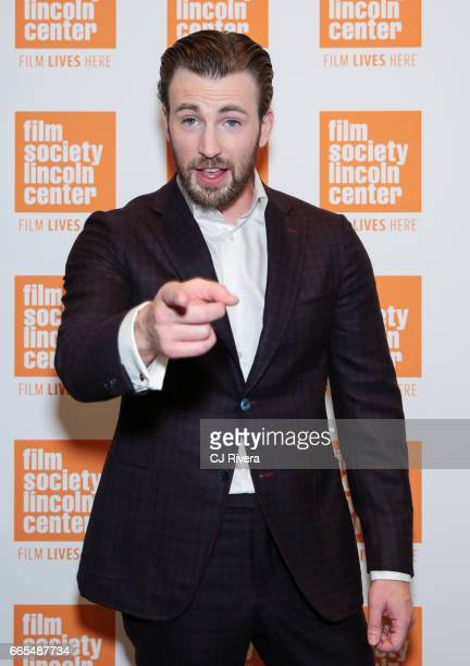 Chris Evans attends the New York premiere of the film 'Gifted' at the New York Institute of Technology on April 6 2017 in New York City
