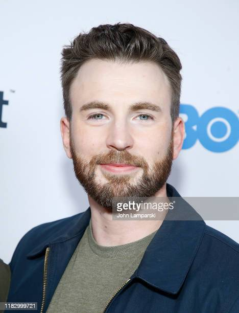 Chris Evans attends the opening night screening of Sell By during NewFest Film Festival at SVA Theater on October 23 2019 in New York City