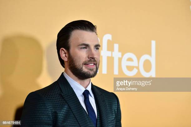 Chris Evans attends the premiere of Fox Searchlight Pictures' Gifted at Pacific Theaters at the Grove on April 4 2017 in Los Angeles California