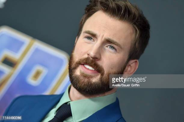 Chris Evans attends the World Premiere of Walt Disney Studios Motion Pictures 'Avengers Endgame' at Los Angeles Convention Center on April 22 2019 in...