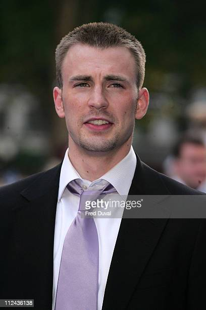 "Chris Evans during ""Fantastic Four: Rise Of The Silver Surfer"" - World Premiere at Vue West End Leicester Square in London, Great Britain."