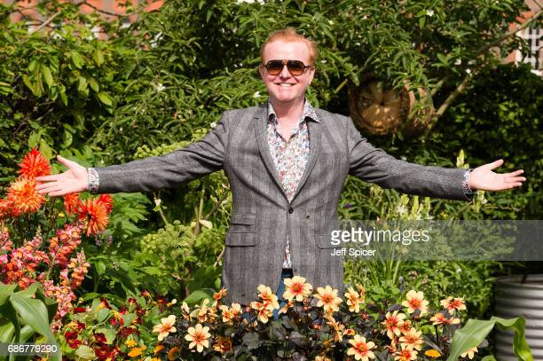 Chris Evans in the Chris Evans Taste Garden during RHS Chelsea Flower Show press day at Royal Hospital Chelsea on May 22 2017 in London England