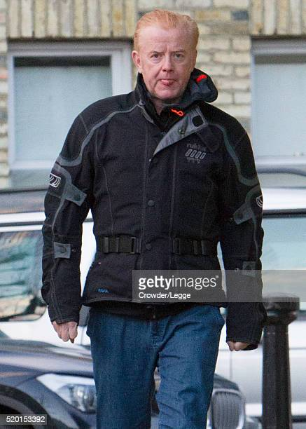 Chris Evans is seen wearing wellington boots on April 07 2016 in London England