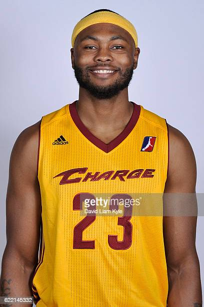 Chris Evans of the Canton Charge poses for a head shot on NBA DLeague media day at the Canton Memorial Civic Center on November 9 2016 in Canton Ohio...
