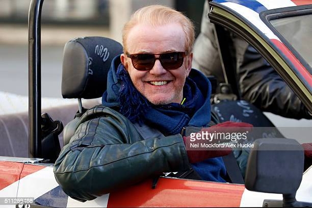 Chris Evans seen filming scenes for Top Gear at the BBC Portland Place on February 19 2016 in London England
