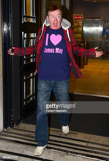 Chris Evans sighted leaving BBC Radio Two on November 29 2013 in London England