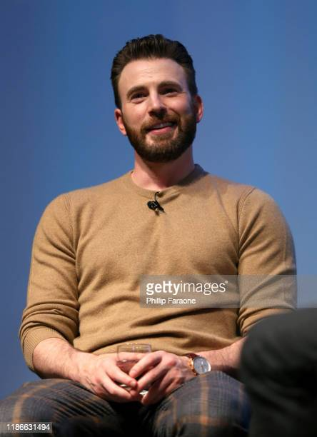 Chris Evans speaks onstage at the WIRED25 Summit 2019 - Day 2 at Commonwealth Club on November 09, 2019 in San Francisco, California.