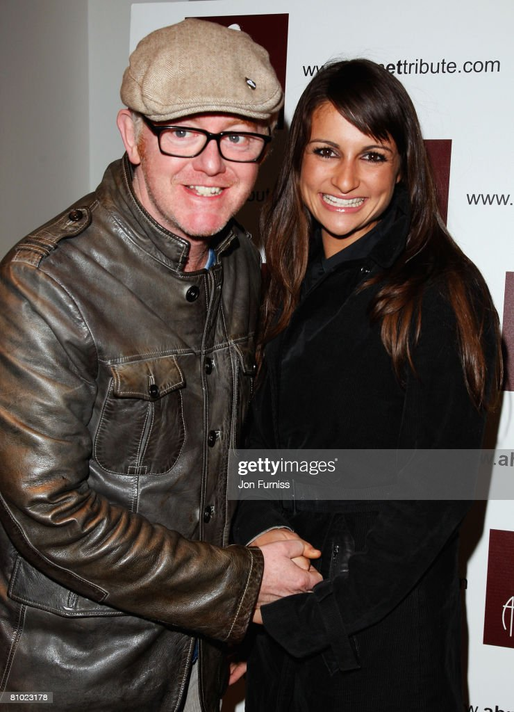 Chris Evans with his wife Natasha Shishmanian attends the Led Zeppelin Tribute To Ahmet Ertegun concert, held at the O2 Arena on December 10, 2007 in London, England.