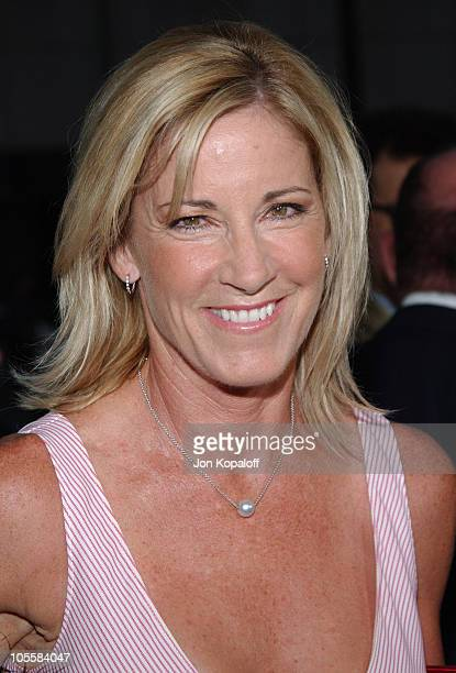 Chris Evert during 'Wimbledon' World Premiere Arrivals at Academy of Motion Picture Arts and Science in Beverly Hills California United States