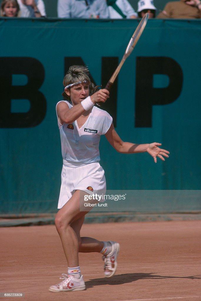 Tennis - Chris Evert : ニュース写真