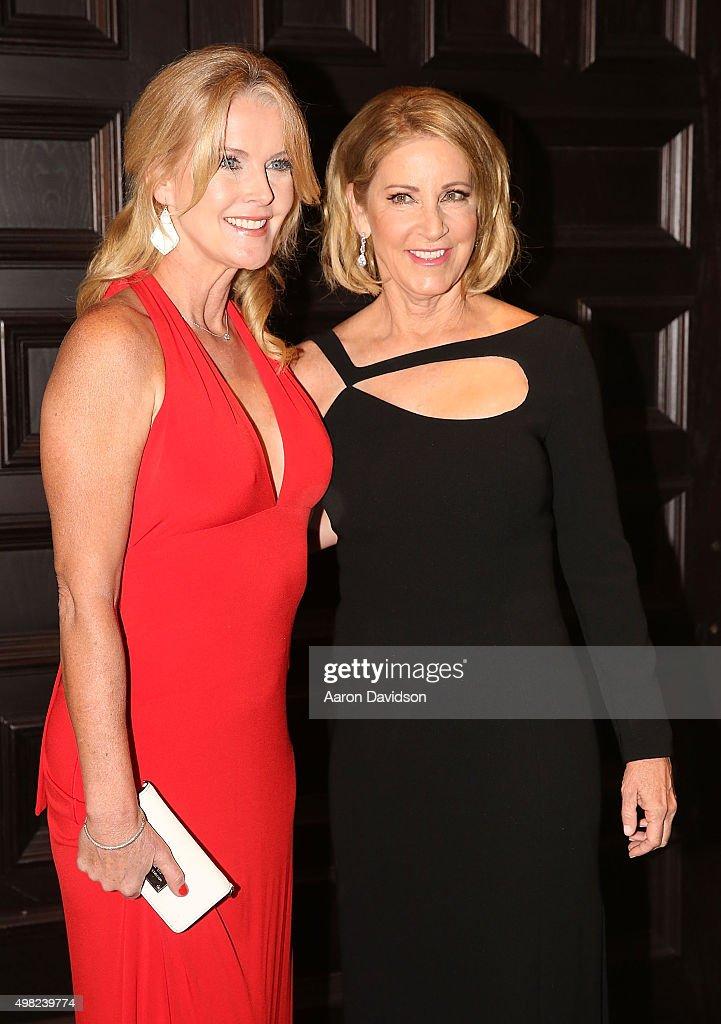 Chris Evert, Maeve Quinlan participates in 2015 Chris Evert/Raymond James Pro-Celebrity Tennis Classic at Boca Raton Resort on November 21, 2015 in Boca Raton, Florida.