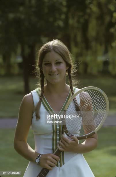 Chris Evert tennis champion 1973