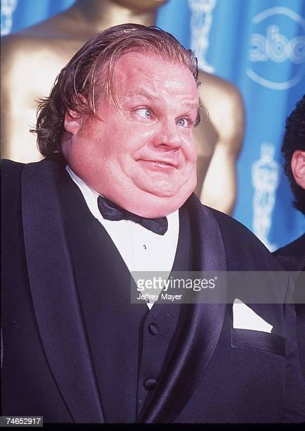 Chris Farley at the Shrine Auditorium in Los Angeles California