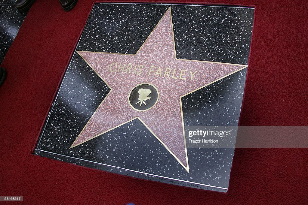 Chris Farley To Be Honored Posthumously With Star On The Walk Of Fame : News Photo